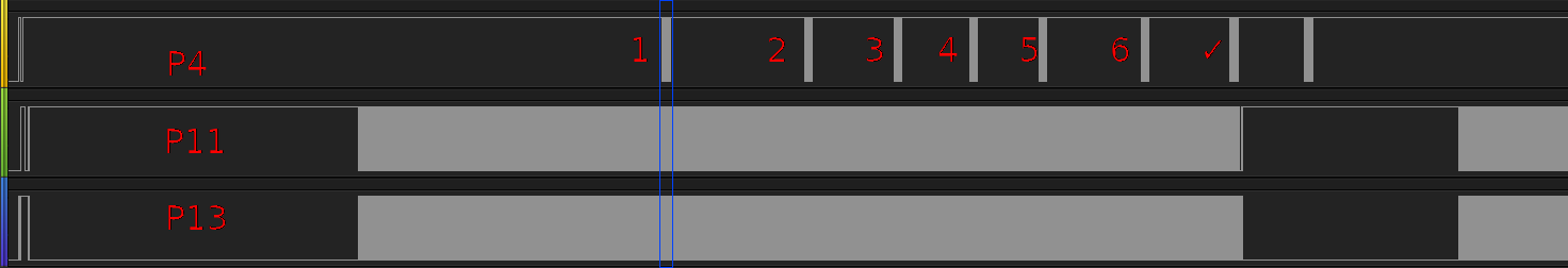 Saleae logic analyzer screenshot