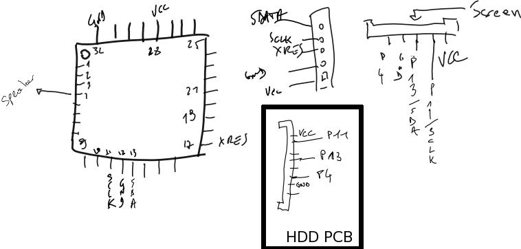 hand drawn schematic